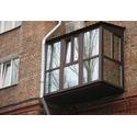 Остекление и отделка балконов и лоджий под ключ, французские балконы