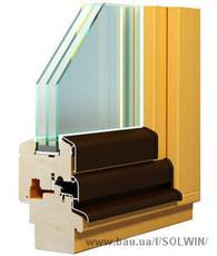Деревянные окна Wood Line