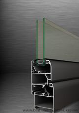 Оконно-дверные системы без теплоизоляции AS 42