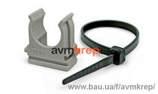 Крепеж для труб, кабеля и сантехники