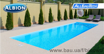 Бассейн Luxury pools — Албион Гроуп