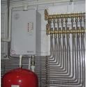 Труба гофрированная для монтажа водопровода отопления газа