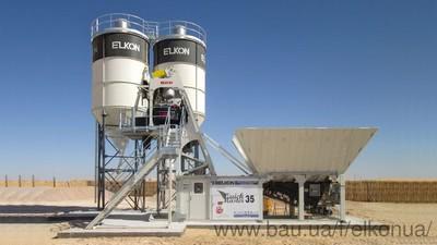 Компактный Бетонный завод ELKOMIX-35 Quick Master — Мастер Новых Технологий
