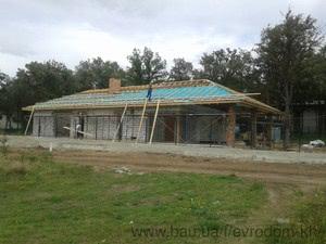 Строительство жилого дома в пос. Флоринка — ЕвроДом