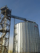 Отделение приемки зерна (элеватор) — НПП ИННОВАТИВ СТРОЙ
