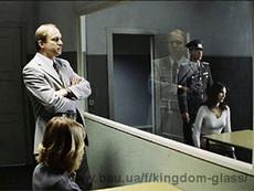 Одностороннее зеркало. Зеркало Гезелла. Зеркало шпион. Полицейское зеркало.
