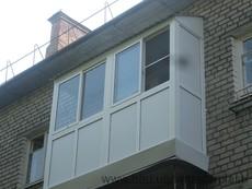 Балкон металлопластиковый под ключ