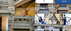 Окна и выносные балконы