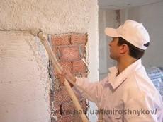 Шпаклевка стен потолков Днепропетровск stroika-dnepr.com штукатурка гипсокартонные работы ремонт квартир Днепропетровск