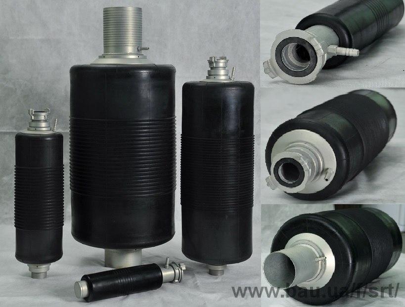 Гидрозатвор (пневмозаглушка) для перекрытия канализационных, водопроводных труб диаметром. ПРОХОДНАЯ ОБВОДНАЯ