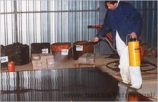 упрочнитель, пропитка, обеспыливатель бетонного пола, промышленный пол