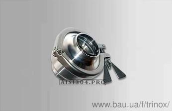 Клапан обратный под сварку DIN Dn 40 AISI 304 — Тринокс