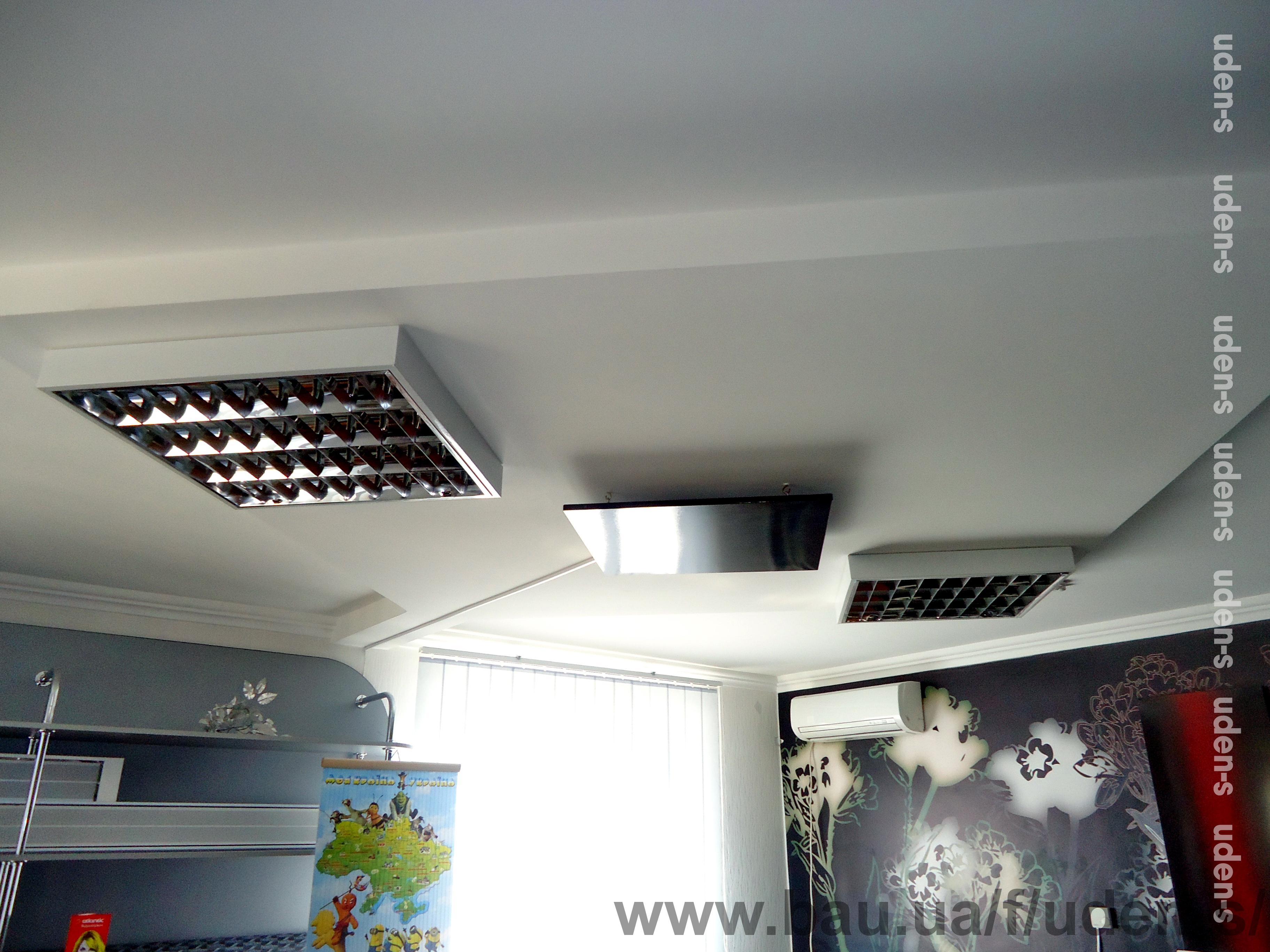 Инфракрасные потолочные обогреватели UDEN-S®