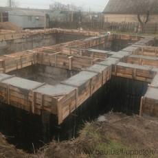 Строительство ленточного фундамента. Весь комплекс работ.