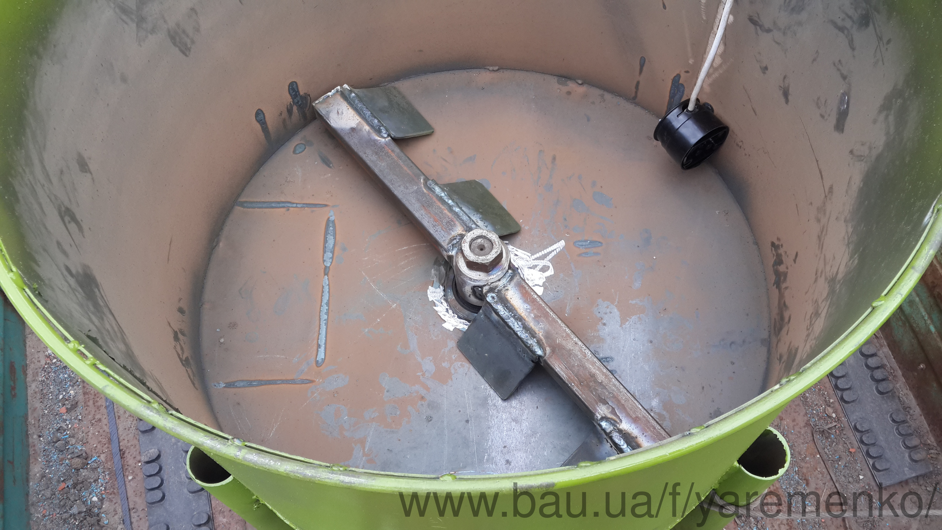 Миксер-смеситель для смешивания резиновой крошки БАРК-60-150