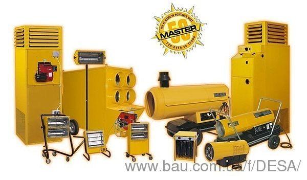 Обогревательное оборудование MASTER на выставке ЕВРОСТРОЙЭКСПО 2013
