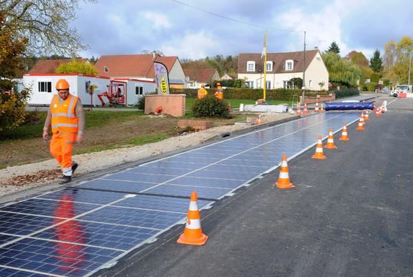 Разработано дорожное покрытие из солнечных панелей