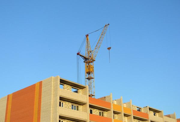 Объемы строительства в Украине выросли более чем на 20%