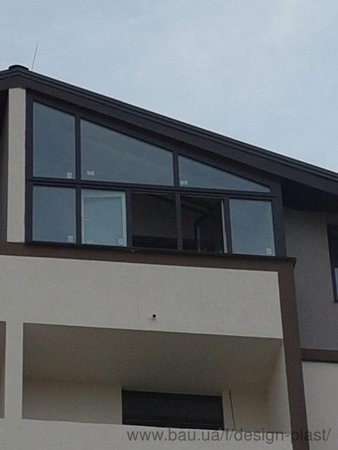 Наш новый объект - балкон Трапеция