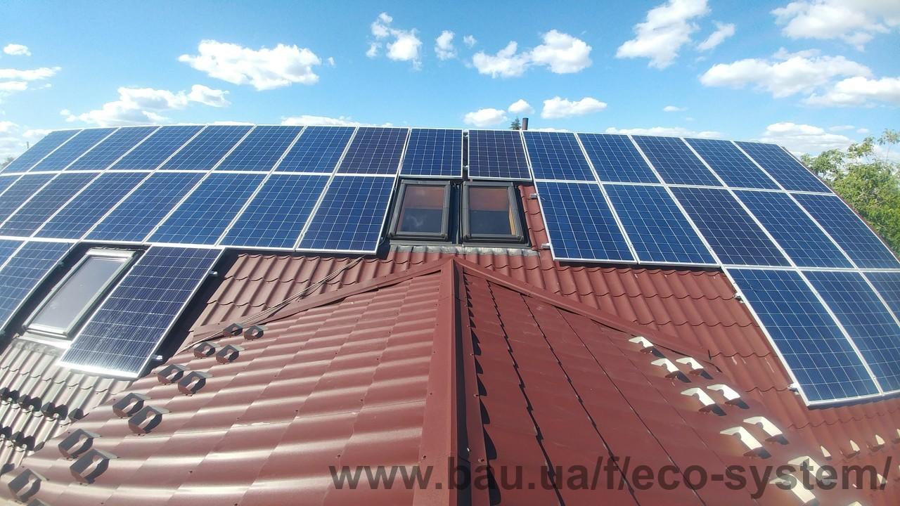 Монтаж солнечной электростанции со скидкой 20%