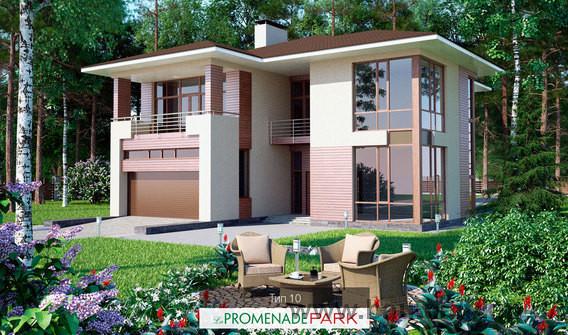 Завершено строительство коттеджного поселка La Promenade Park