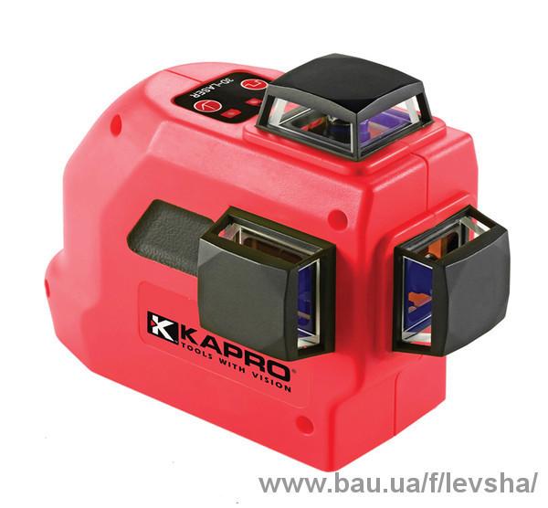 Новые лазерные нивелиры Kapro 883