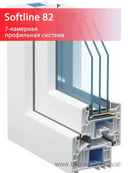 VEKA Softline 82 - новый образец окна