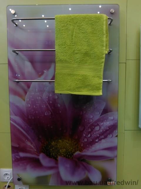 Новинка: электрический полотенце-сушитель 0,2 кВт