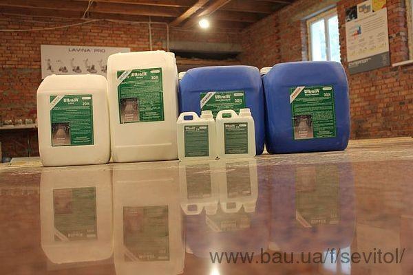 21.10.13 Нанесение пропитки ULTRALIT возможно и на свежий бетон! Качество гарантируется!