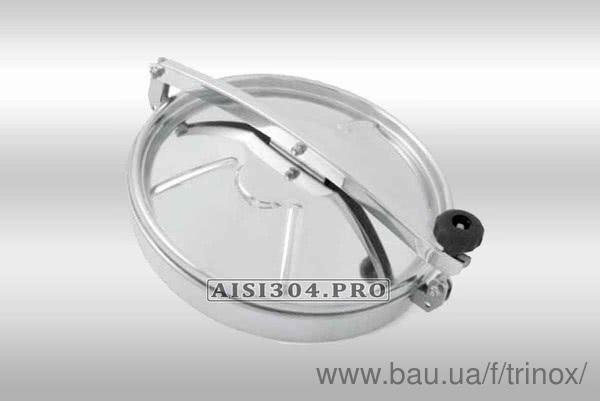Новый завоз: люк круглый нержавеющий 400 и 500 AISI304