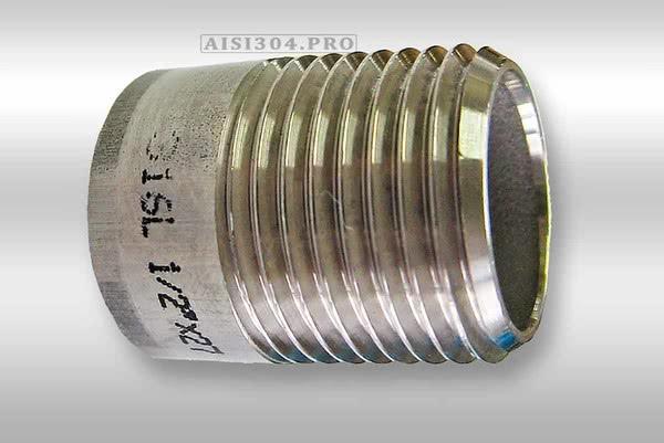 Резьба нержавеющая AISI304 (ниппель приварной) теперь в наличии всех размеров!