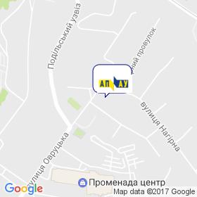 Ассоциация промышленного арматуростроения Украины на карте