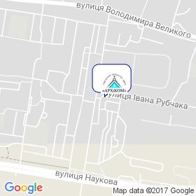 Инженерно-проектное бюро АРХиКОМ на карте