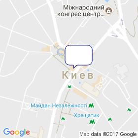 Дельта Проектконсалт Украина на карте