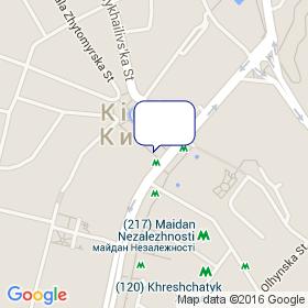 Дуплет на карте -  , Украина