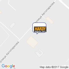 Hardex на карте