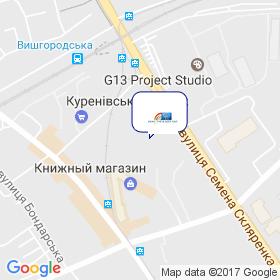 ТФ КАНТ XXI на карте