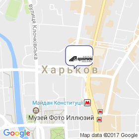 ХАРЬКОВАРХПРОЕКТ на карте