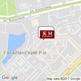 КМ Девелопмент на карте