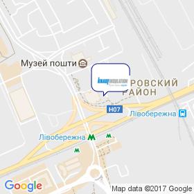 Кнауф Инсулейшн Украина на карте