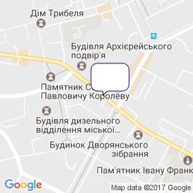 Лига Инструмент на карте