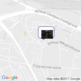 Лио на карте