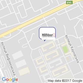 MAXIdoor на карте