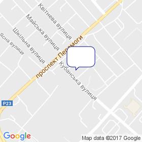 Нова Площа на карте