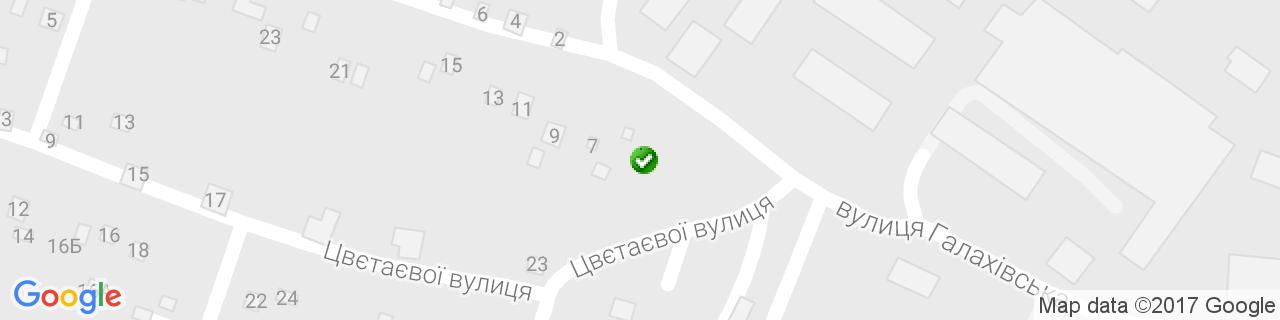Карта объектов компании Василенко Т.И.