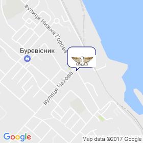 Оскар Пласт на карте