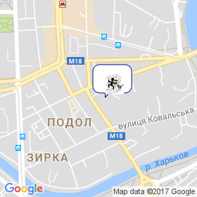 Паук на карте