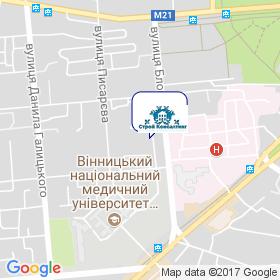 Худякова Людмила Васильевна на карте