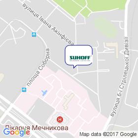 Сухофф на карте