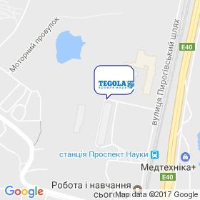 ТЕГОЛА-УКРАИНА на карте